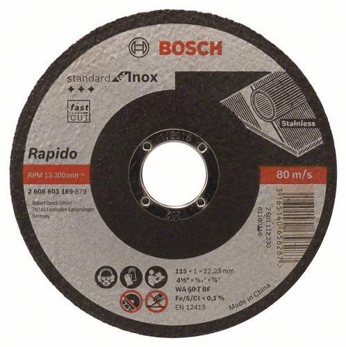 Камен за метал 115x1 Bosch inox