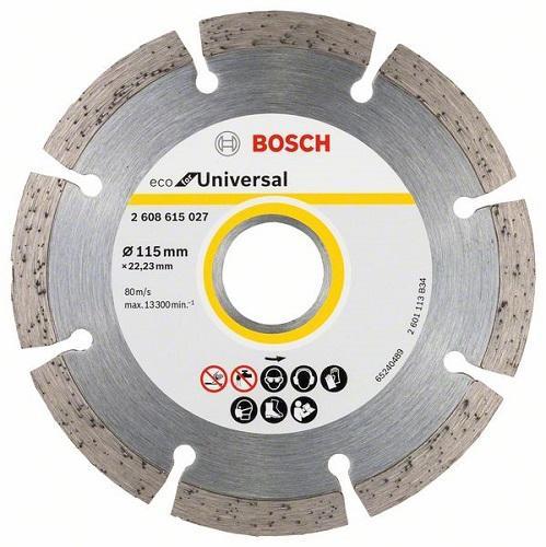 Дијамантски диск универзал Bosch 115 mm