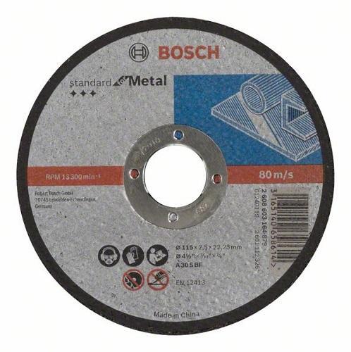 Камен за метал 115x2.5 Bosch inox
