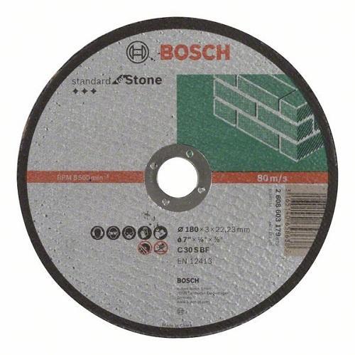 Камен за неметал 180x3 Bosch