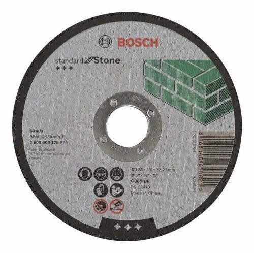 Камен за неметал 125x3 Bosch