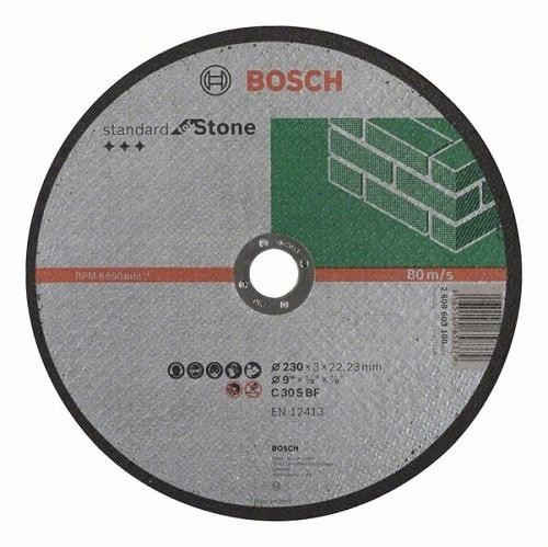 Камен за неметал 230x3 Bosch