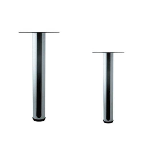 Ногарка за маса - хром Пластична за маса - Ø40mm