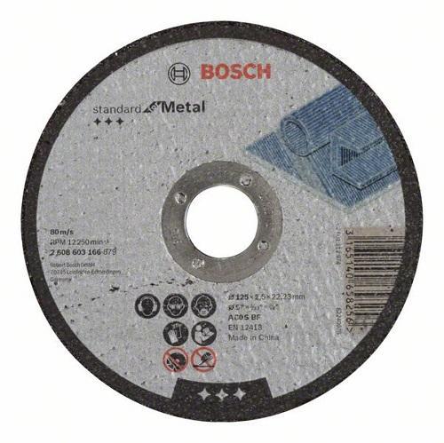 Камен за метал 125x2.5 Bosch inox