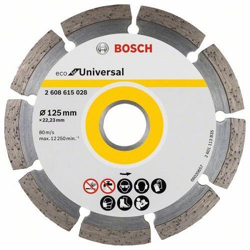 Дијамантски диск  универзал Bosch 125 mm